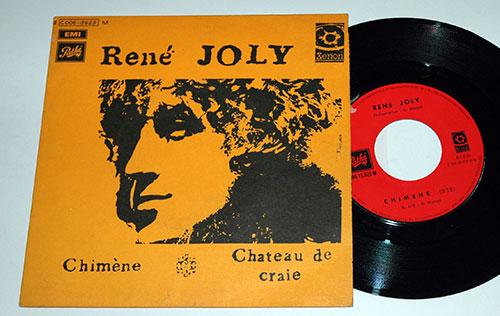 JOLY, RENÉ (REL. GÉRARD MANSET) - Chimène - 45T (SP 2 titres)