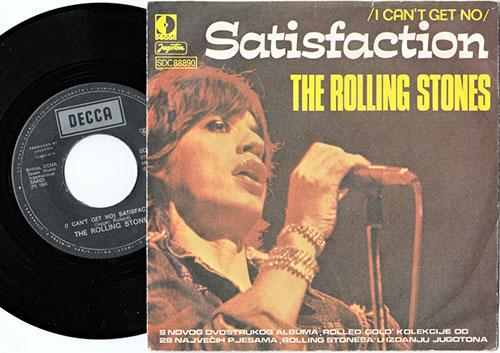 ROLLING STONES, THE - Satisfaction - 7inch (SP)